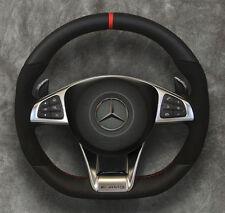 2015 ◆ Mercedes-Benz ◆ AMG Steering wheel ◆ Airbag ◆ Alcantara ◆ Red stitching