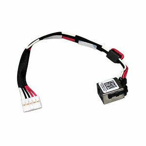 New-AC-DC-IN-Power-Jack-w-Cable-Harness-Socket-For-Dell-Latitude-14-3450-RP8D4-B