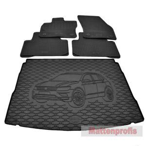 Gummimatten + Gummi Kofferraumwanne Set GKK für VW Tiguan II AD1 uB ab Bj.2016