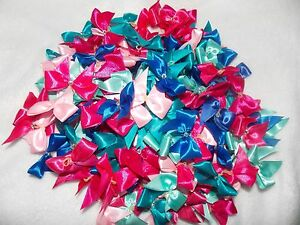 Joblot 200 dog grooming bows with diamante stone BLUES/PINKS - Castledermot, Kildare, Ireland - Joblot 200 dog grooming bows with diamante stone BLUES/PINKS - Castledermot, Kildare, Ireland