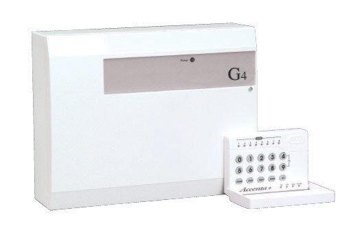 Honeywell ADE Accenta panel de alarma para Hogar Antirrobo G4 8SP401A-UK + Teclado LED