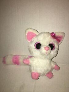 Aurora-Yoo-Hoo-amp-Friends-Pink-And-White-Yoo-Hoo-6-034-Plush-Stuffed-Animal