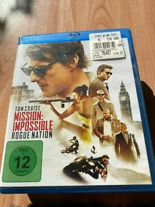 Blue ray Mission: Impossible - Rogue Nation (2015), sehr guter Zustand! - Sprockhövel, Deutschland - Blue ray Mission: Impossible - Rogue Nation (2015), sehr guter Zustand! - Sprockhövel, Deutschland