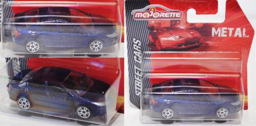 Street Cars MAJORETTE 212053051 PEUGEOT 407 circa 1:61 Blu