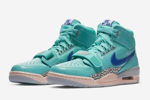 c40cab89 Nike Air Jordan Legacy 312 Jade/Orange/Blue Basketball Shoes US Size ...