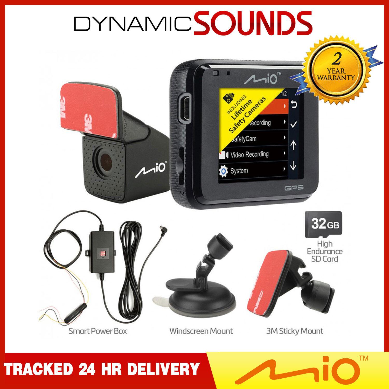 Mio Mivue C380 DUAL PRO FIT KIT 32GB Dash Cam 2