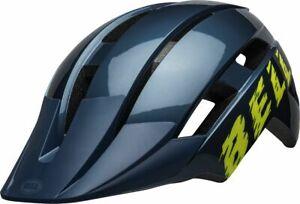 Bell-Sidetrack-II-Child-MIPS-Kinder-Fahrrad-Helm-Gr-48-55cm-blau-gelb-2020