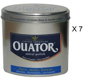 7-OUATOR-INOX-CHROME-COTON-LUSTRER-AUTO-MOTO-BATEAU