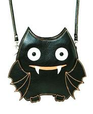 Cute Little Spooky Vampire Bat Black Bag Purse Goth Emo Punk Kawaii Alternative