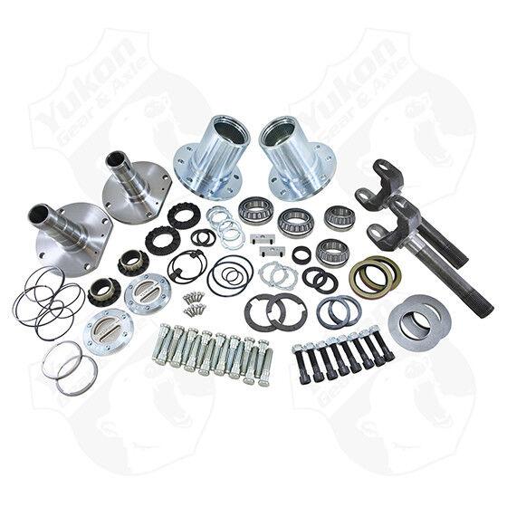 Spin Free Locking Hub Conversion Kit for Dodge DRW Dana 60 AAM Differential YA WU-05 Yukon