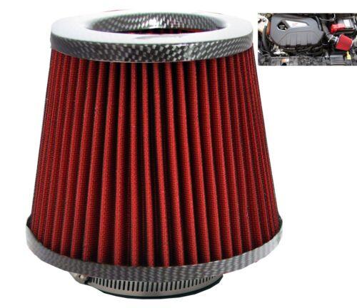 Carbon Fibre Induction Kit Cone Air Filter Peugeot 108 2014-2016