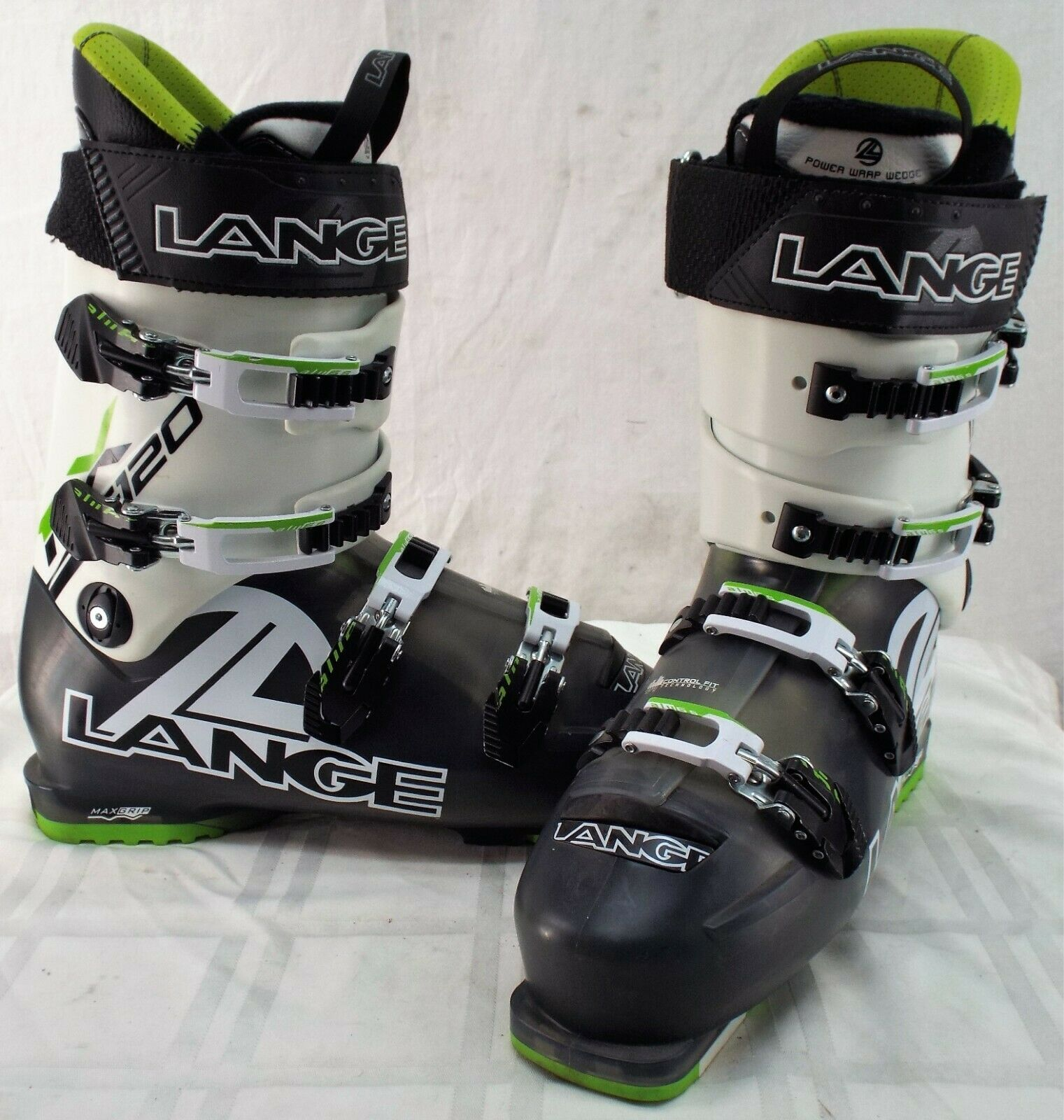 Lange RX 120 Used Men's Ski Boots Size  29.5  discounts and more
