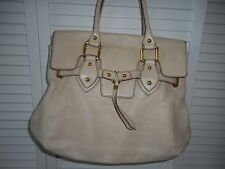 Ivory MAXX New York Large Leather Satchel