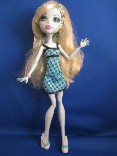 Monster High Mad Science Class Lagoona Blue Doll Dress Sea