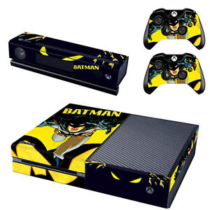 1 Xbox Une Console Contrôleur Kinect Autocollant Decal Peau Set-batman Uk Stock-afficher Le Titre D'origine 1yzwsxil-07173725-789709738