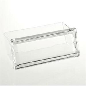 Great Clear Plastic Desktop Business Card Holders Display Stands