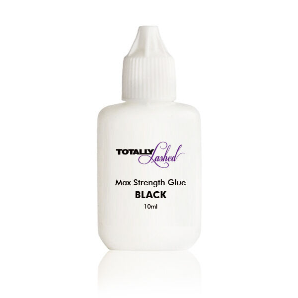 TOTALLY Lashed - Adhesive Individual Eyelash Extensions GLUE - Black / Clear