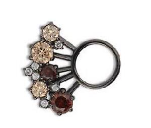 RING-DING-Crystal-brauntoene-light-ca-19-mm-rutheniert-2483795