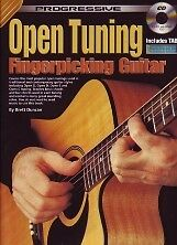 Progressive Open Tuning Fingerpicking Guitar + Cd-afficher Le Titre D'origine