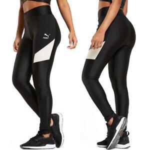 Puma-Retro-Legging-Damen-Tights-Hose-Jogginghose-Trainingshose-Sporthose