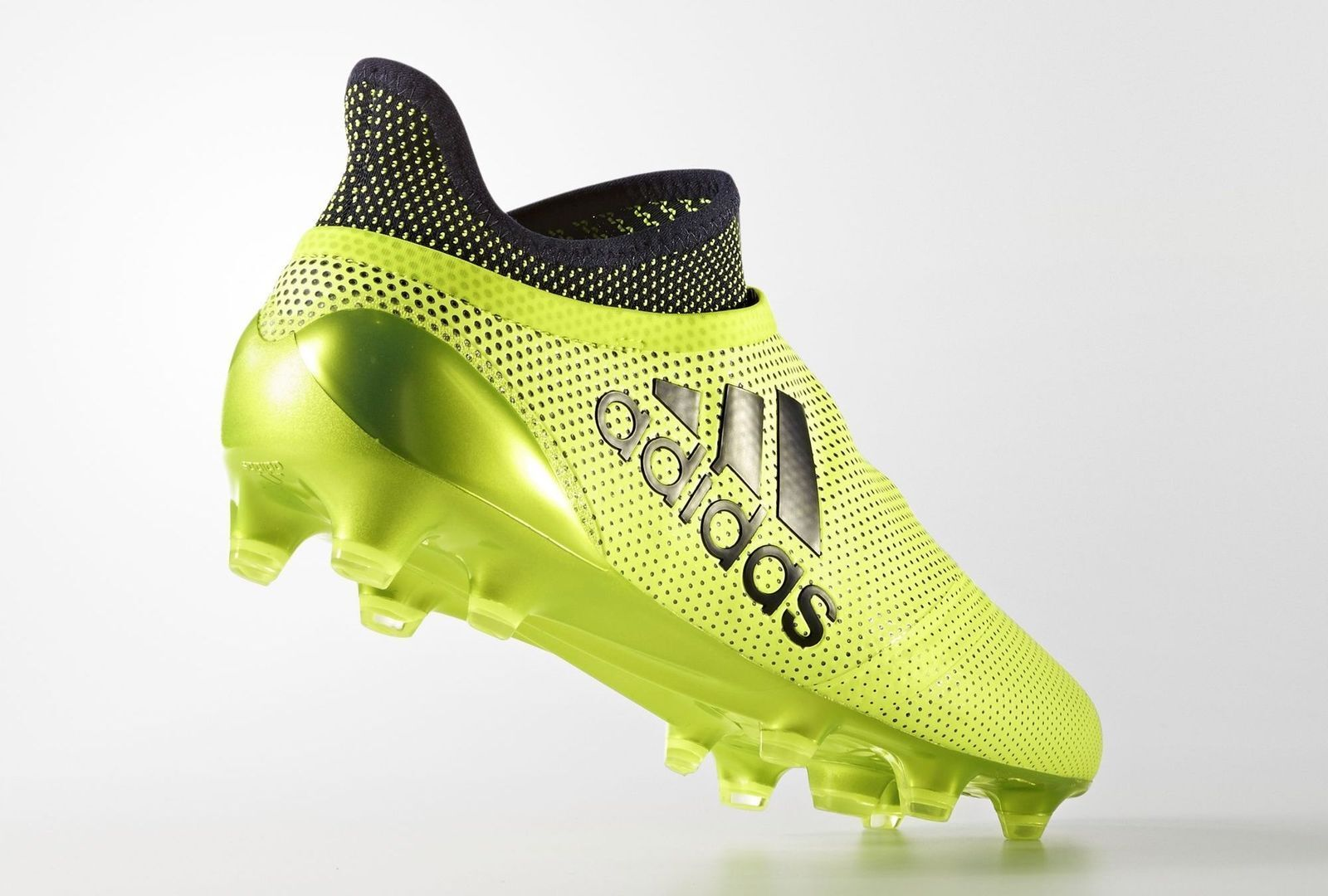 Adidas Homme X 17 + Purespeed Fg Football Chaussures Cale Bottes Taille 12 Nib