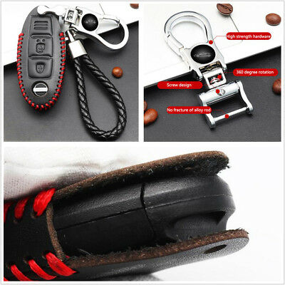 Brand New  High Quality leather remote key Case Cover Holder For Nissan Series