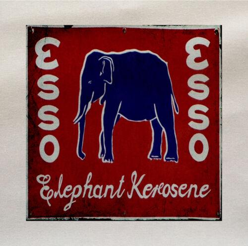 Esso Elephant Fabric Cotton Panel Make A Cushion Upholstery Craft