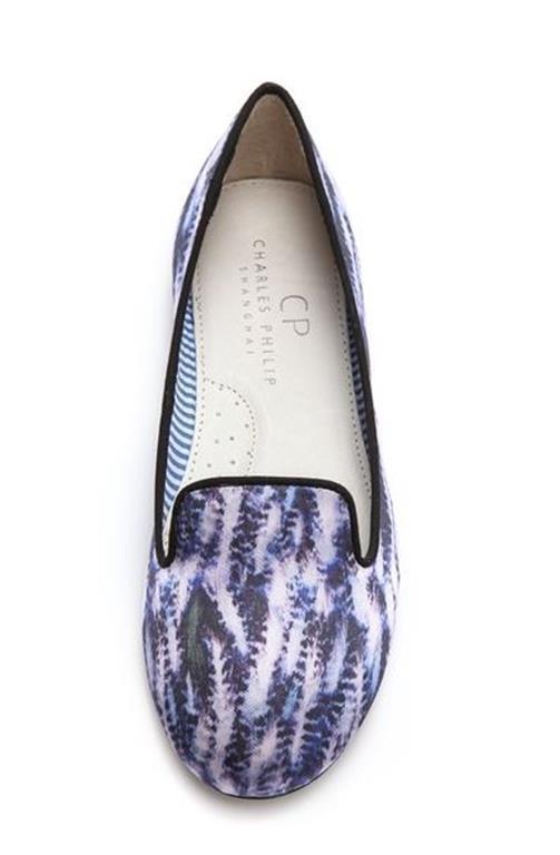 175$ Charles Philip Yasmin Heron Loafers Size US7, UK5, EU37.5 New in Box