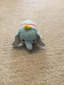 "New Disney TSUM TSUM Winnie Dumbo Mini Soft Plush Toys Screen Cleaner 3.5/""//9cm"