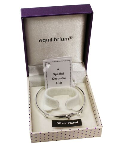 Silver Plated Baby/'s Christening Bangle With Cross For Boys Girls Keepsake Gifts