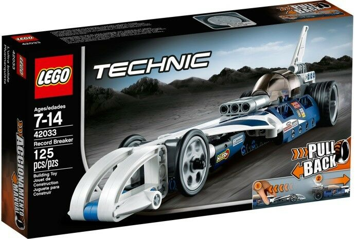 LEGO Technic 42033 Record Breaker Set Nuovo In Box Sealed  42033