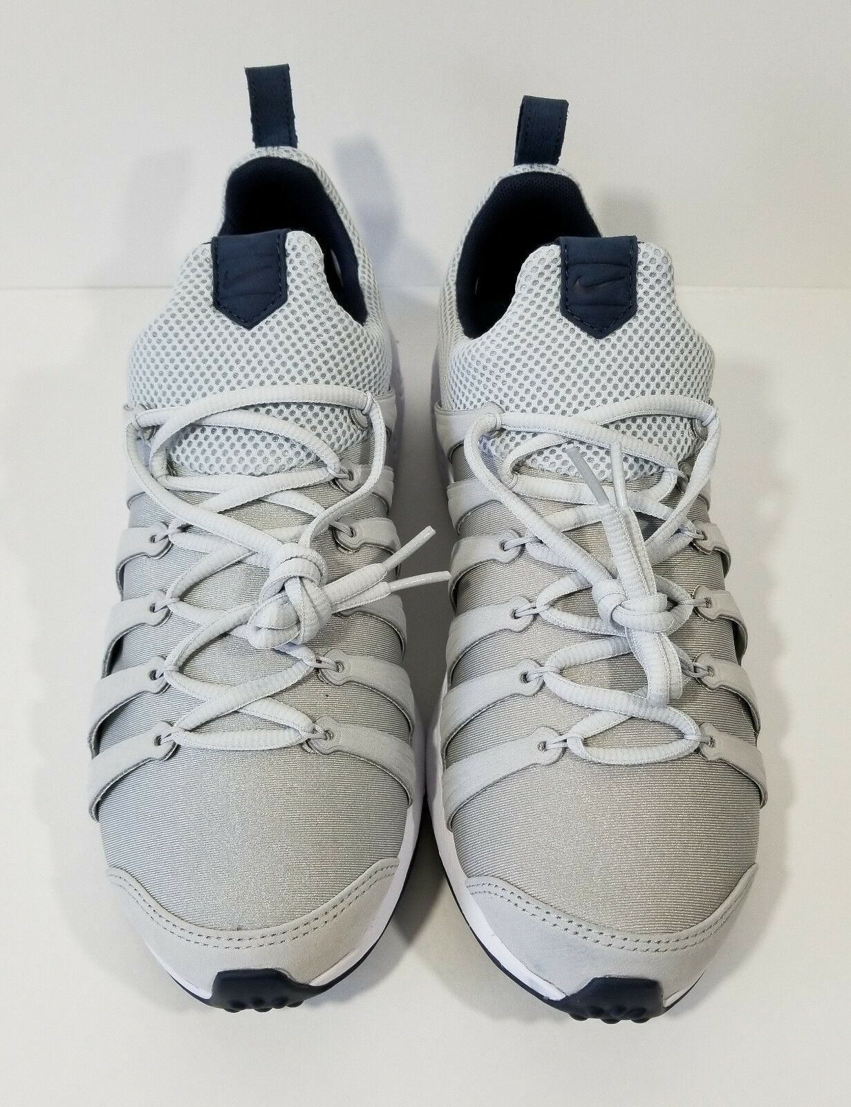 buy popular 56356 297dd ... Nike Air Zoom Spirimic Mens Running Shoes Shoes Shoes Grey White Size  10 df4439 ...