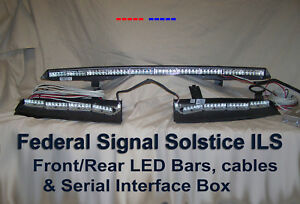 Federal Signal Solaris Ils Interior Led Undercover Lightbar Whelen Code 3 Shome Ebay