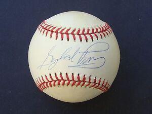 a93f3e064f7 Image is loading GAYLORD-PERRY-Signed-Baseball-HOF-Auto-COA