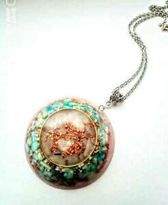 necklet-Rose-Quartz-pendant-Amazonite-orgonite-orgone-stones-and-crystals