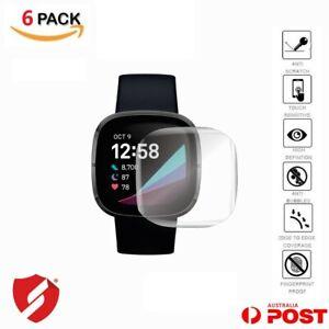 Premium-Ultra-Clear-Screen-Protector-for-Fitbit-Versa-3-Sense-Anti-Scratch-Film