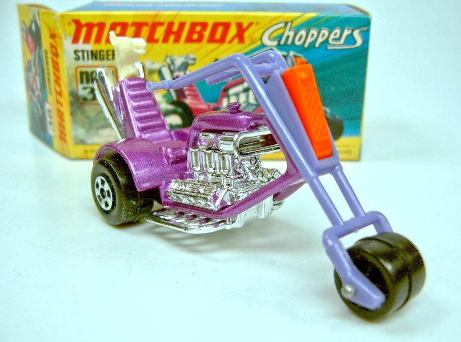 encuentra tu favorito aquí Matchbox Matchbox Matchbox súperfast Stingeroo Chopper Menta Caja No.38B  echa un vistazo a los más baratos