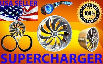 Pontiac Turbo Performance Air Intake Supercharger Engine Fan Power Truckonator