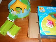 Zhu Zhu Puppies Playtime Backyard BBQ Barbecue Playset (Incomplete)