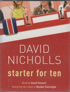 David-Nicholls-Starter-For-Ten-10-2-Cassette-Audio-Book-Abridged-David-Tennant