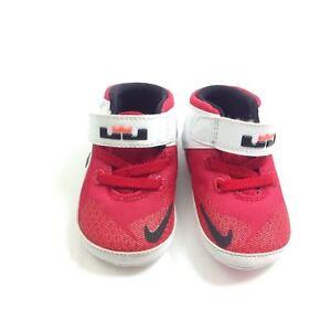 2cdf3cc09a75c Lebron James The Twelve Baby Nike Infant Shoes Red Black 685191-602 ...