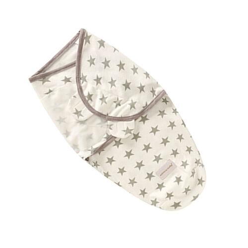 Pucktuch Baby Strampelsack Quilt weich Baumwolle Decke für 0-3 Monate Star