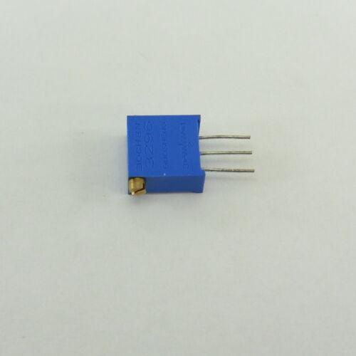 3296 lado Potenciómetro Pote Recortador de precisión multiespira 203 3296X 20K Ohm #Y45
