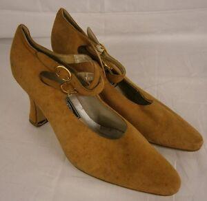 deb1c39fdb68 Bandolino YFA Women s Beige Sueded Leather Strappy Pumps Size 6 Item ...