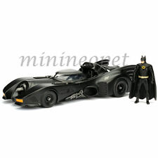 JADA 98260 METALS 1989 89 BATMOBILE 1/24 DIECAST MODEL CAR with BATMAN FIGURE