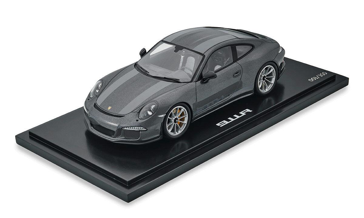 PORSCHE 911 R westminstergris 1 18 Modèle Spark limitée 300 pièces  wax02100024