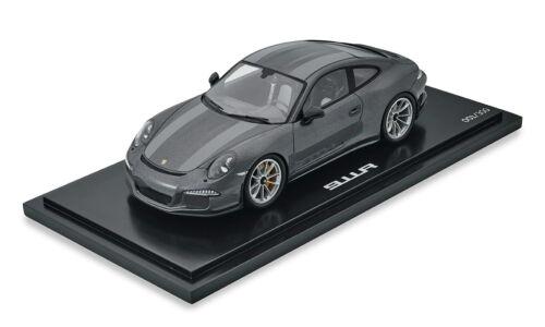 Porsche 911 R westminstergrey 1:18 Modell Spark Limitiert 300 Stück**WAX02100024