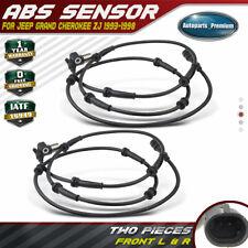 2 x ABS Sensor Hinten Jeep Grand Cherokee ZJ 1993-1998 REAR DISCS ABS//ZJ//001A