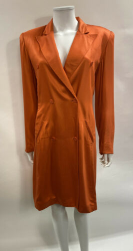 Vintage Stephen Sprouse Coat Dress 8