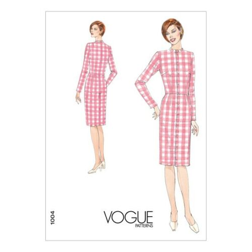 Vogue Sewing Pattern V1004 Women/'s Slim Fit Dress Fitting Shell